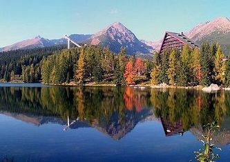 Исчезает вода из горного озера