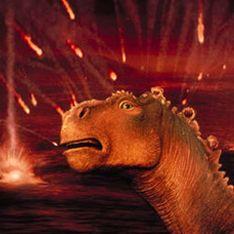 Динозавров уничтожил тысячелетний метеоритный дождь