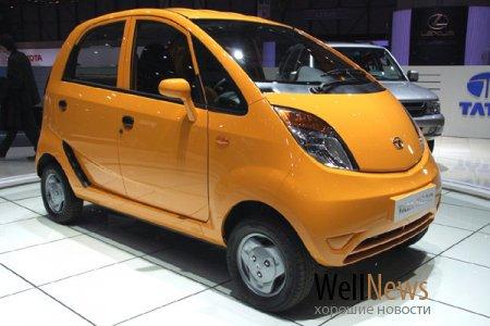 Tato Nano - самый дешёвый в мире автомобиль