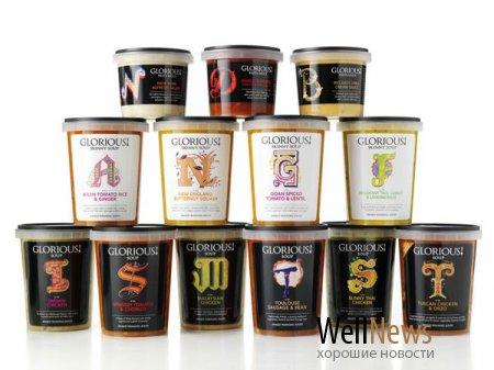 Славный ребрендинг славных супов Glorious! Soup