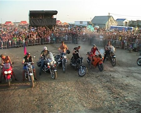 На тамани прошел байк-фестиваль «Тамань-полуостров свободы»