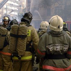 Электронагреватель вызвал пожар в московском общежитии