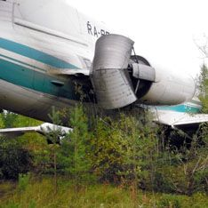 Севший в Коми Ту-154 подвели аккумуляторы
