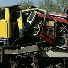 При столкновении поездов пострадали десятки человек
