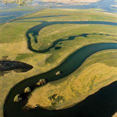 Сибирские реки занесло на повороте