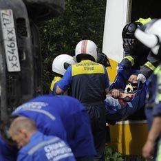 Авария с пятью пострадавшими парализовала движение в Москве