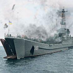 В Черном море произошел взрыв на военном корабле