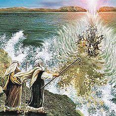Ученые воссоздали переход Моисея через море