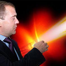 Медведева задобрят боевым лазером