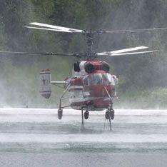 В Краснодарском крае разбился вертолет