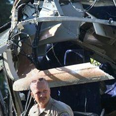 Автобус с туристами разбился в Германии