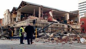 Землятресение в Новой Зеландии