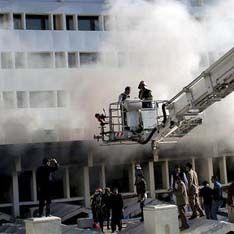 В Египте сгорел отель с туристами