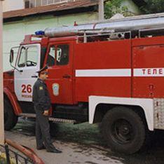 В Москве загорелось здание Минздравсоцразвития