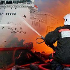 В Балтийском море взорвался паром