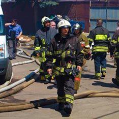 В центре Москвы загорелся часовой завод