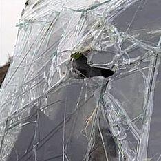 Под Иваново рейсовый автобус протаранил легковушку