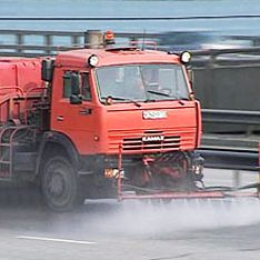 Москву перед зимой помоют с шампунем