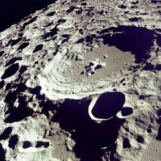 На Луне нашли серебро и алкоголь