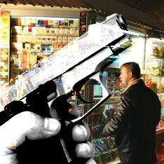 Пьяный милиционер открыл стрельбу по прохожим