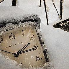Россия переходит на зимнее время