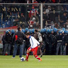 Фанаты довели Сербию до разгрома