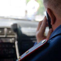 В Петербурге милиционеры угнали экскаватор