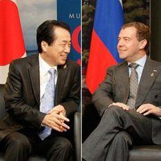 Кремль подтвердил встречу Медведева с премьером Японии