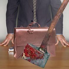 Доцента поймали с окровавленным топором в портфеле