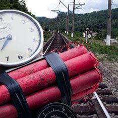 В Ленинградской области на железной дороге заложили взрывчатку