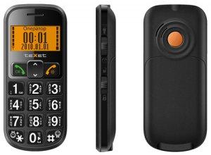 teXet TM-B200 – бюджетный телефон для пожилых людей