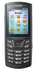 Samsung E2152 - мобильный телефон на две SIM-карты