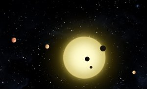 Обнаружена солнечная система, имеющая шесть планет
