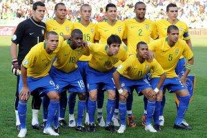 Товарищеский матч по футболу сборная команда Бразилии - команда Чеченской республики