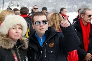 Визит Президента России в Сочи