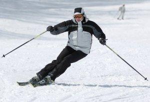 Катание на горных лыжах временно под запретом
