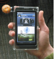Новость на WellNews: Прототип загадочного смартфона Microsoft Menlo на фото