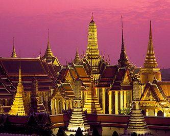 Достопримечательности Таиланда: Большой дворец в Бангкоке