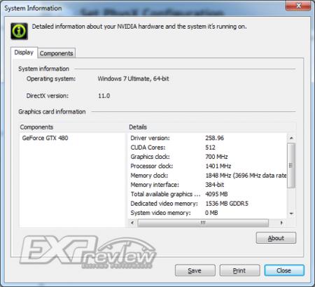 Версия NVIDIA GeForce GTX 480 с 512 ядрами CUDA – дополнительные бенчмарки