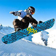 Самым опасным зимним видом спорта оказался сноуборд