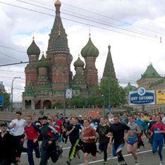 Центр столицы перекроют из-за бегунов