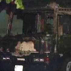 Во взорванном автобусе погибли 12 человек
