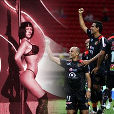 Сборная по футболу влипла в секс-скандал