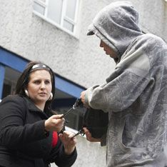 В Москве ограбили сотрудницу банка