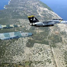 Два МиГа не поделили хорватское небо