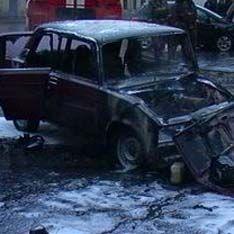 Два человека сгорели заживо в аварии на северо-западе Москвы