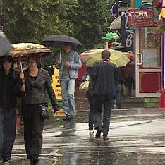 Москвичей ждут дожди и похолодание