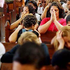 Ребенок исчез во время богослужения