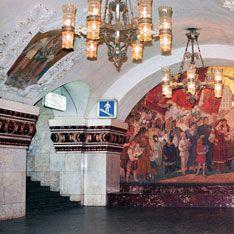 В московском метро обрушилась стена