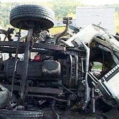 На Урале пять человек погибли в аварии